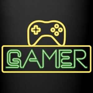 Gamer Neon Mugs & Drinkware - Full Color Mug