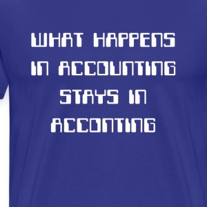 Accounting secret T-Shirts - Men's Premium T-Shirt
