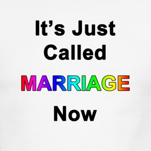 It's Just Called Marriage Now - Men's Ringer T-Shirt