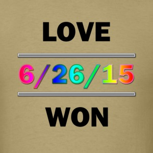 Love Won - Men's T-Shirt