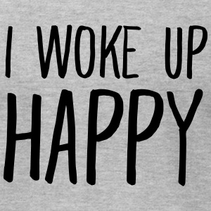 I Woke Up Happy T-Shirts - Men's T-Shirt by American Apparel