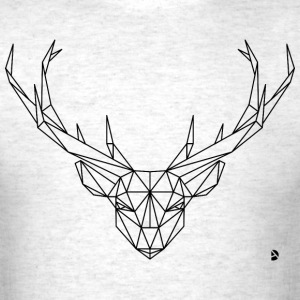 AD Geometric Deer T-Shirts - Men's T-Shirt