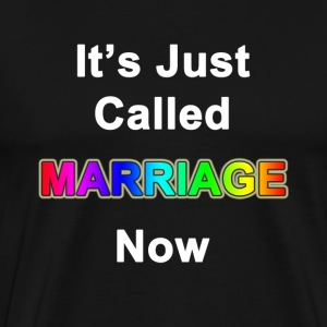 It's Just Called Marraige Now - Men's Premium T-Shirt