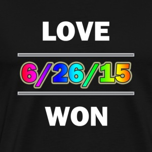Love Won - Men's Premium T-Shirt
