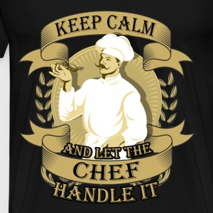 Chef T-shirt - Keep calm and let the chef - Men's Premium T-Shirt