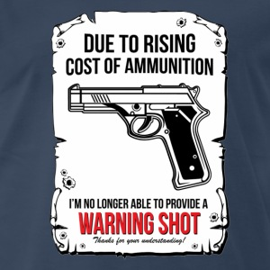 Warning Shoot - Men's Premium T-Shirt