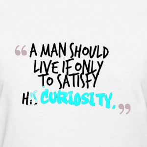 a man  funny trend life quote Women's T-Shirts - Women's T-Shirt