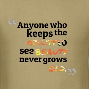 creativity and beauty fun quote design T-Shirts - Men's T-Shirt
