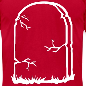 tombstone T-Shirts - Men's T-Shirt by American Apparel