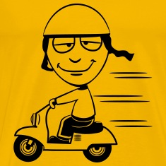 stupid funny Scooter T-Shirts