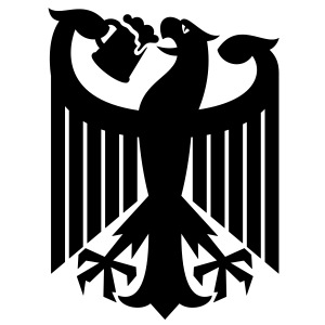 Coat of arms of Germany (drinking beer)