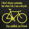 Stay Saddled, My Friend - Men's Long Sleeve T-Shirt by Next Level