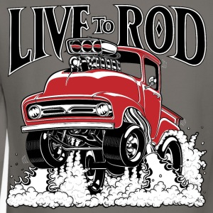 LIVE TO ROD 1956 F100 Sweatshirt - Crewneck Sweatshirt