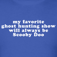 Design ~ Ghost Hunting Scooby Doo - Men's T-shirt