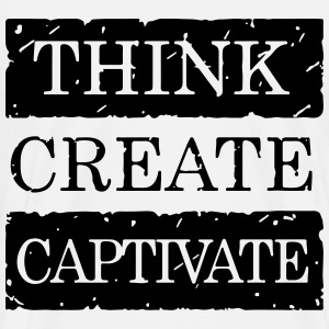 Think Create Captivate - Men's Premium T-Shirt