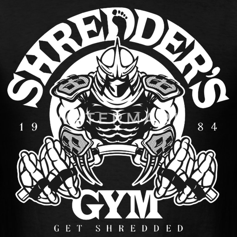 Shredders Gym - Men's T-Shirt