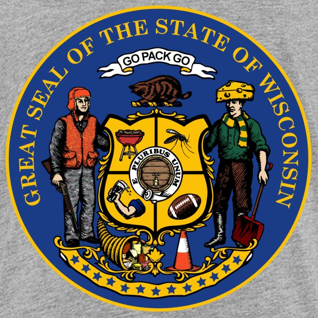 NEW WISCONSIN STATE SEAL