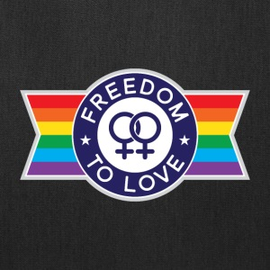 Freedom to Love Female Bags & backpacks - Tote Bag