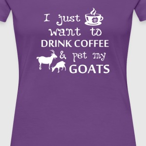 Coffee & Goats - Women's Premium T-Shirt