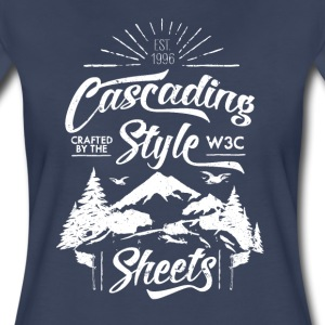 CSS-Shirt - Woman (navy) - Women's Premium T-Shirt