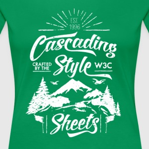 CSS-Shirt - Woman (green) - Women's Premium T-Shirt