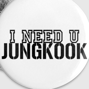 I Need U Jungkook Buttons - Small Buttons