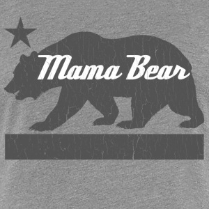 California Bear Family (MAMA Bear) - Women's Premium T-Shirt