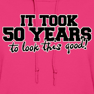 50th birthday party humor  - Women's Hoodie