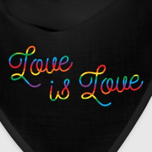 Love is Love Script Bandana - Bandana