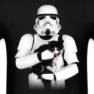 Design ~ Stormtrooper Cat - Adult