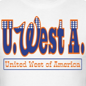 U. West A. DENVER BRONCOS - Men's T-Shirt