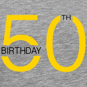 50th T-Shirts - Men's Premium T-Shirt