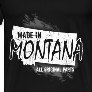 Montana T-shirt - Made in Montana - Men's Premium T-Shirt
