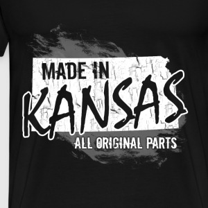 Kansas T-shirt - Made in Kansas - Men's Premium T-Shirt