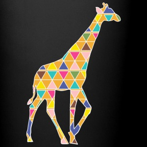 A colorful graphic Giraffe Mugs & Drinkware - Full Color Mug