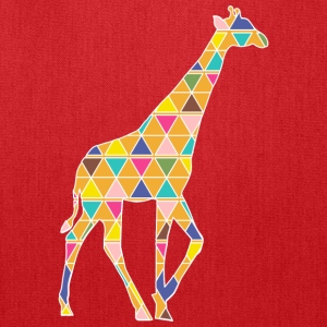 A colorful graphic Giraffe Bags & backpacks - Tote Bag