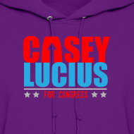 Design ~ Casey For Congress Women's Hoodie Sweat-Shirt