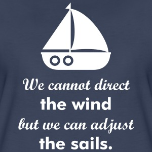 Nautical Sail boat Women's T-Shirts - Women's Premium T-Shirt