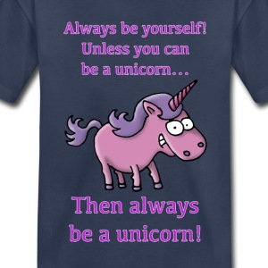 always_be_a_unicorn_072015_c Kids' Shirts - Kids' Premium T-Shirt