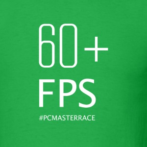 60 FPS PCMASTERRACE - Men's T-Shirt