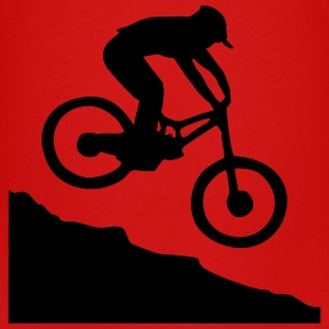 Downhill Mountain Biking Baby & Toddler Shirts - Toddler Premium T-Shirt
