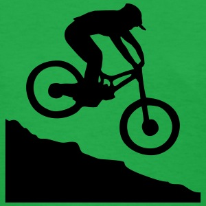 Downhill Mountain Biking Women's T-Shirts - Women's T-Shirt