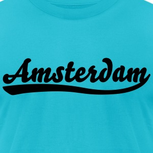 Amsterdam T-Shirts - Men's T-Shirt by American Apparel