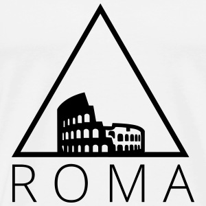 Roma Hipster Triangle T-Shirts - Men's Premium T-Shirt