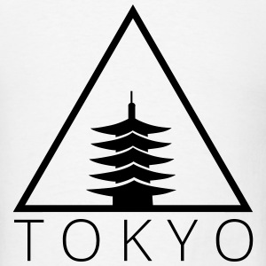 Tokyo Hipster Triangle T-Shirts - Men's T-Shirt