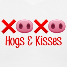 Hamlett The Piggy Hogs and Kisses Women's T-Shirts