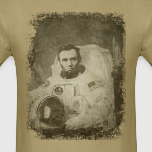 Abe The Astronaut - Men's T-Shirt
