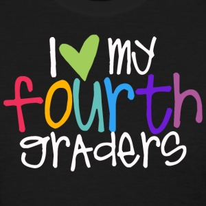 love myfourth graders teacher shirt Women's T-Shirts - Women's T-Shirt