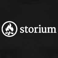 Design ~ Men's Black Storium T-Shirt