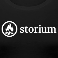 Design ~ Women's Black Storium T-Shirt